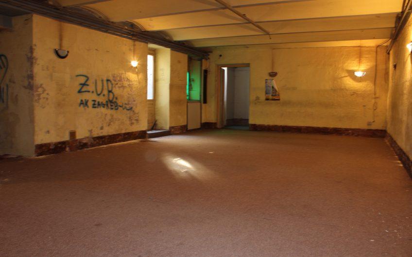 Najam: poslovni prostor, Masarykova-Preradovićeva 183 m2 dvoetažni